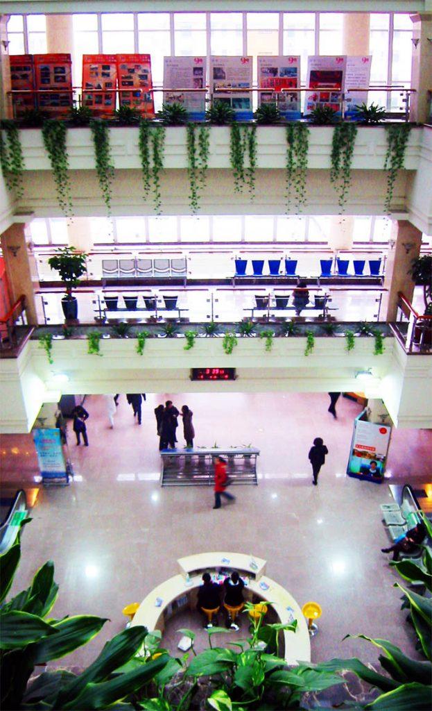 Pj und Famulaturprogramm Shanghai East Hospital, Ansicht der Lobby