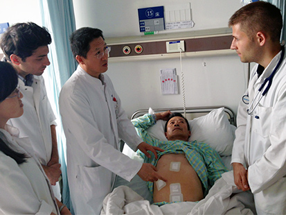 International Medical Students Teaching Rounds Shanghai China
