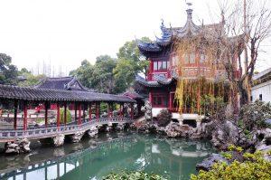 Yu Gartden und Altstadt Shanghai's